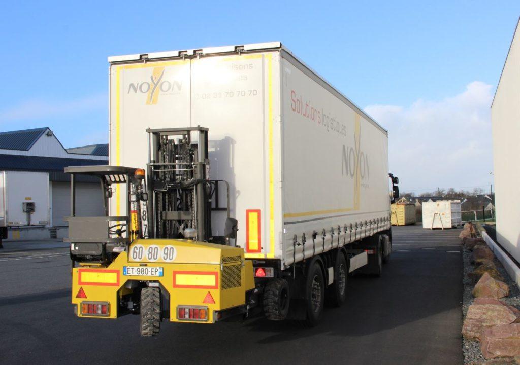 chariot embarque solution transport sur mesure