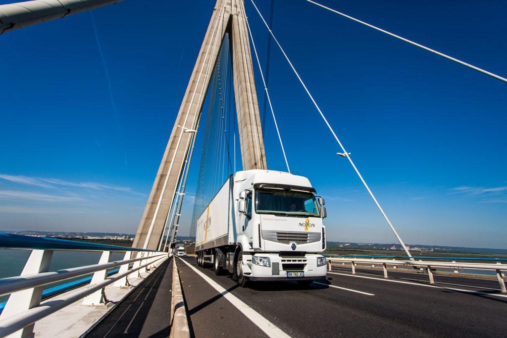 Noyon transport logistique normandie