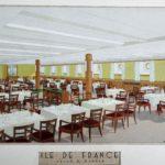 1927 Paquebot Ile de France Aménagements NOYON