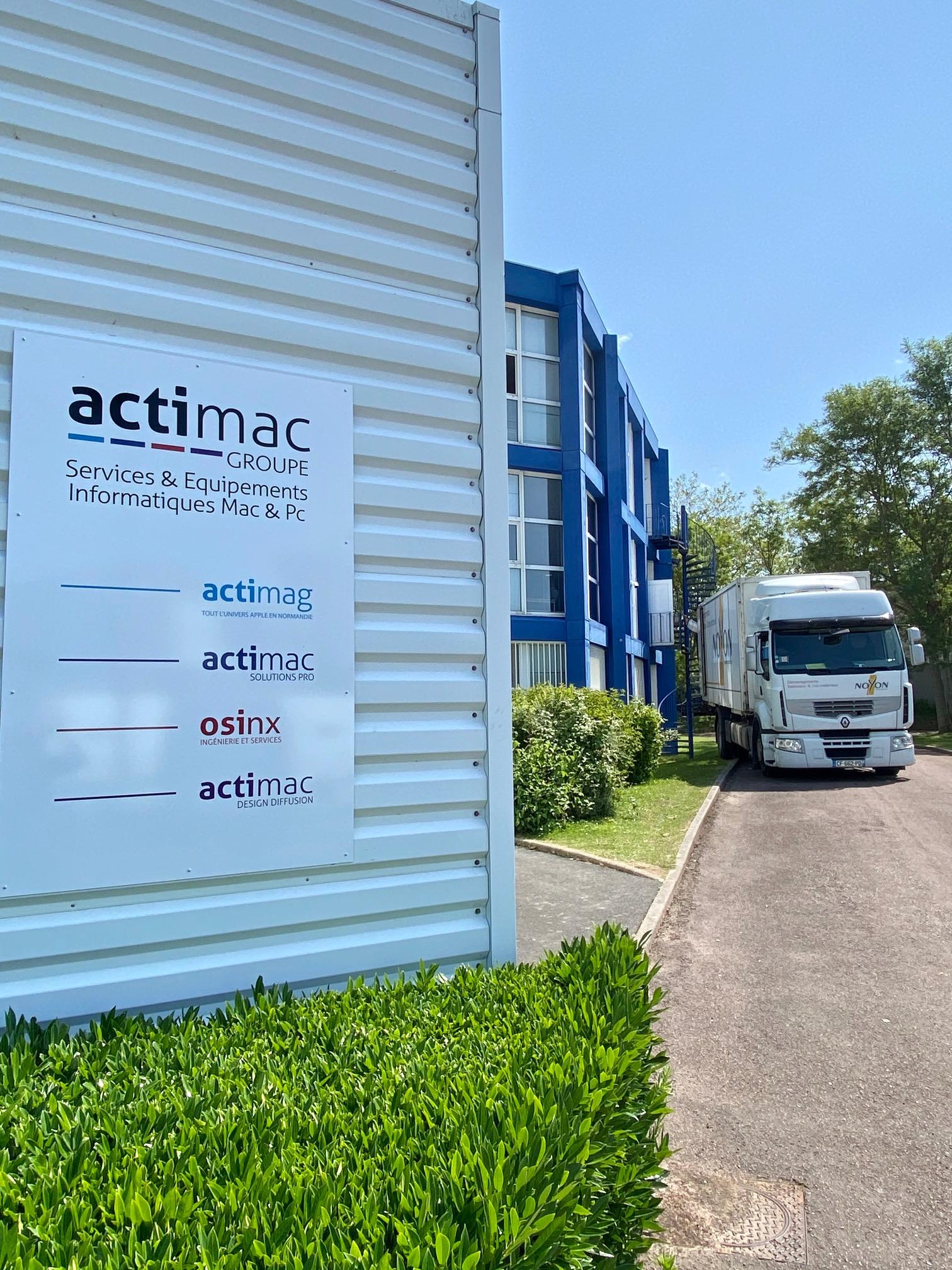 Transfert administratif d'Actimac
