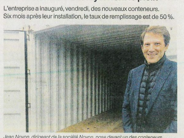 Article Ouest-France NOYON ContientPlus 12 2019 photo