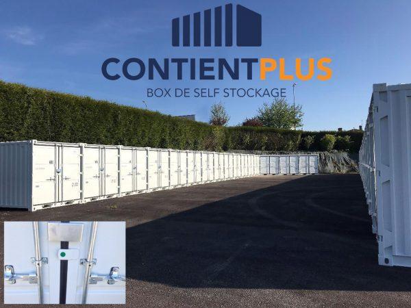 ContientPlus Flers stockage sécurisé NOYON Flers