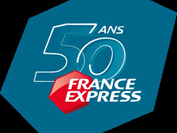 Logo France Express 50 ans
